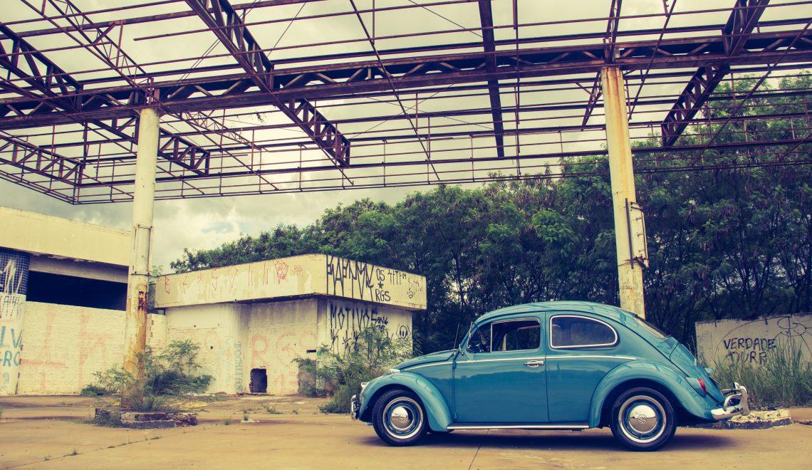 Für die besten Mütter: ein altes Auto mit Stil.