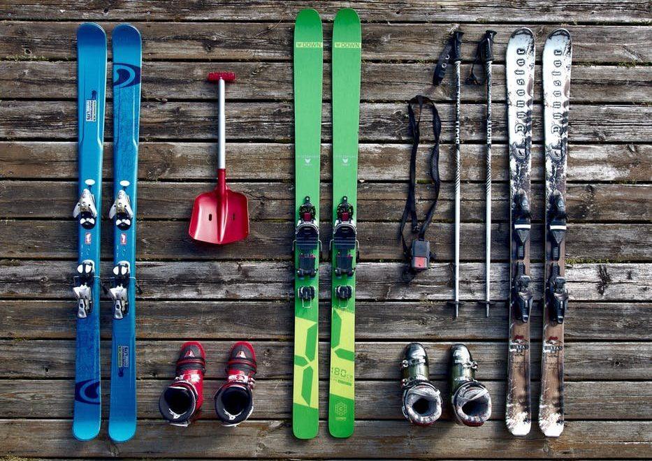 In der Skihalle ist immer Saison