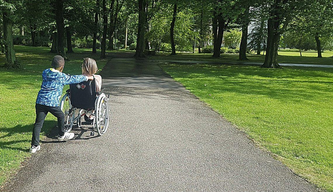 Von kranken Großeltern kann man viel fürs Leben lernen.